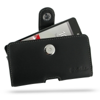 LG Optimus G Leather Holster Case PDair Premium Hadmade Genuine Leather Protective Case Sleeve Wallet