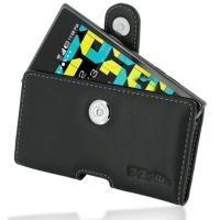 Leather Horizontal Pouch Case with Belt Clip for LG Prada 3.0 P940