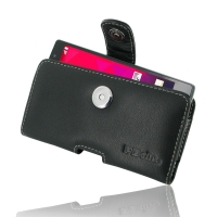 LG Spirit Leather Holster Case PDair Premium Hadmade Genuine Leather Protective Case Sleeve Wallet