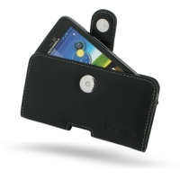 Motorola Atrix HD Leather Holster Case PDair Premium Hadmade Genuine Leather Protective Case Sleeve Wallet