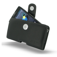 Leather Horizontal Pouch Case with Belt Clip for Motorola Droid Razr Maxx HD