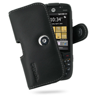Motorola ES400 Leather Holster Case PDair Premium Hadmade Genuine Leather Protective Case Sleeve Wallet