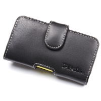 Nokia Asha 210 Leather Holster Case PDair Premium Hadmade Genuine Leather Protective Case Sleeve Wallet