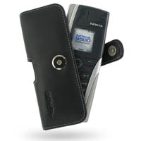 Leather Horizontal Pouch Case with Belt Clip for Nokia Communicator 9500 (Black)