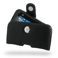 Nokia Lumia 510 Leather Holster Case PDair Premium Hadmade Genuine Leather Protective Case Sleeve Wallet