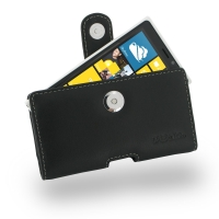 Nokia Lumia 920 Leather Holster Case PDair Premium Hadmade Genuine Leather Protective Case Sleeve Wallet