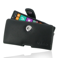 Nokia Lumia 930 Leather Holster Case PDair Premium Hadmade Genuine Leather Protective Case Sleeve Wallet
