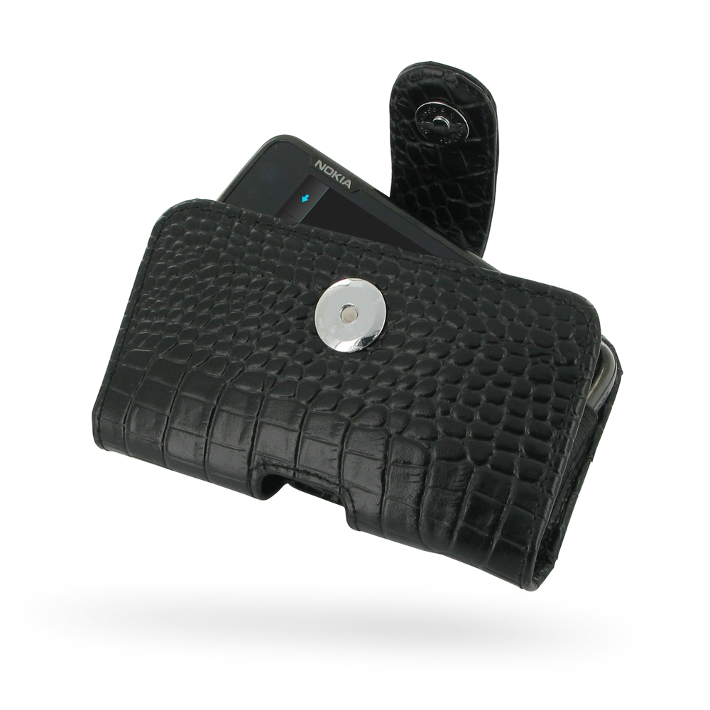 10% OFF + FREE SHIPPING, Buy Best PDair Top Quality Handmade Protective Nokia N900 Leather Holster Case (Black Croc Pattern). Pouch Sleeve Holster Wallet You also can go to the customizer to create your own stylish leather case if looking for additional c