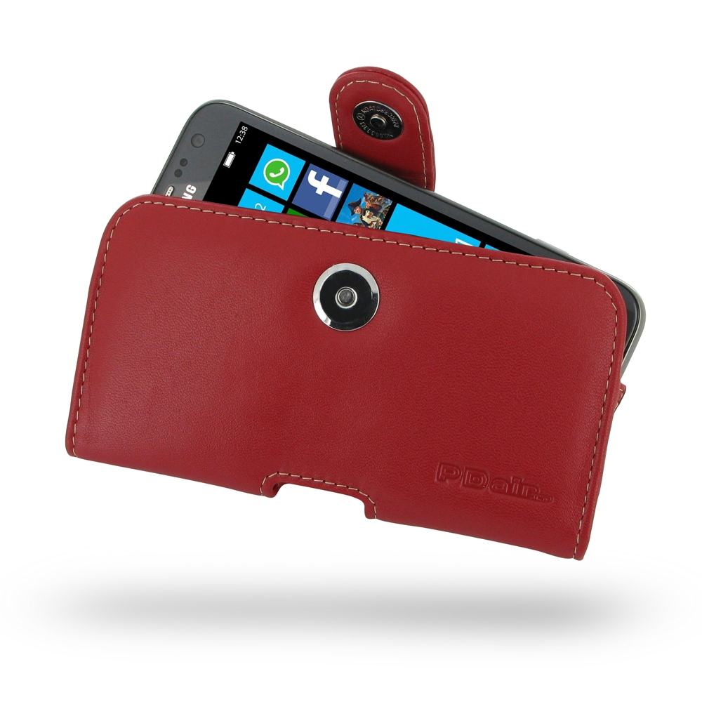 10% OFF + FREE SHIPPING, Buy Best PDair Top Quality Handmade Protective Samsung Ativ S Leather Holster Case (Red) online. Pouch Sleeve Holster Wallet You also can go to the customizer to create your own stylish leather case if looking for additional color