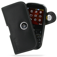 Leather Horizontal Pouch Case with Belt Clip for Samsung B3210 CorbyTXT (Black)