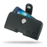 Leather Horizontal Pouch Case with Belt Clip for Samsung Galaxy Express 2 SM-G3815