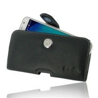 Leather Horizontal Pouch Case with Belt Clip for Samsung Galaxy J7 SM-J700F