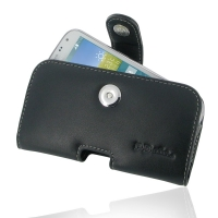 Leather Horizontal Pouch Case with Belt Clip for Samsung Galaxy K Zoom SM-C115