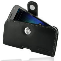 Leather Horizontal Pouch Case with Belt Clip for Samsung Galaxy Nexus GT-i9250 SCH-i515