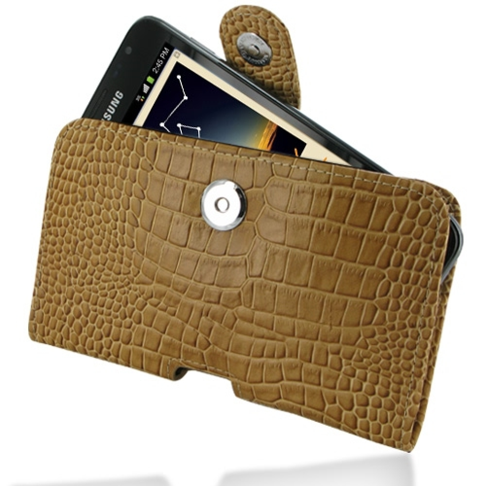 10% OFF + FREE SHIPPING, Buy Best PDair Quality Handmade Protective Samsung Galaxy Note Leather Holster Case (Brown Croc Pattern). Pouch Sleeve Holster Wallet You also can go to the customizer to create your own stylish leather case if looking for additio