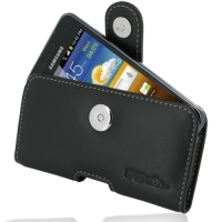 Leather Horizontal Pouch Case with Belt Clip for Samsung Galaxy S Advance GT-i9070