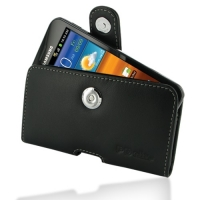 Leather Horizontal Pouch Case with Belt Clip for Samsung Galaxy S II Epic 4G Touch SPH-D710