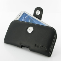 Leather Horizontal Pouch Case with Belt Clip for Samsung Galaxy S III S3 GT-i9300
