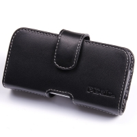 Leather Horizontal Pouch Case with Belt Clip for Samsung Galaxy S4 zoom SM-C1010