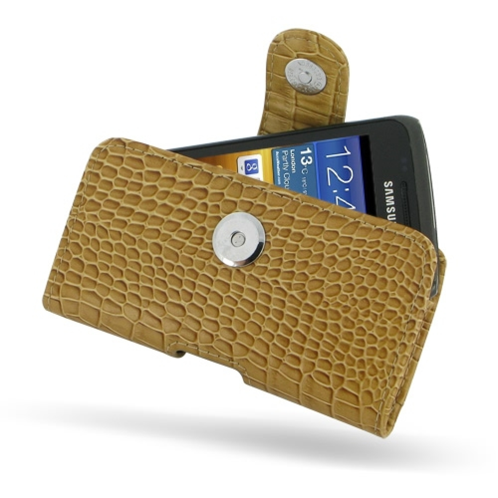 10% OFF + FREE SHIPPING, Buy PDair Top Quality Handmade Protective Samsung Galaxy W Leather Holster Case (Brown Croc Pattern). Pouch Sleeve Holster Wallet You also can go to the customizer to create your own stylish leather case if looking for additional