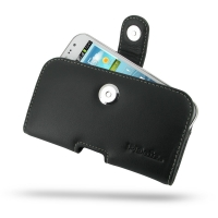 Leather Horizontal Pouch Case with Belt Clip for Samsung Galaxy Win Duos GT-i8550 GT-i8552
