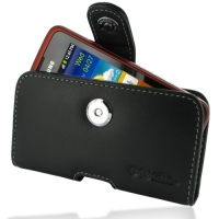 Samsung Galaxy xCcover Leather Holster Case PDair Premium Hadmade Genuine Leather Protective Case Sleeve Wallet