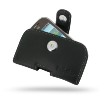 Leather Horizontal Pouch Case with Belt Clip for Samsung Star Deluxe Duos GT-S5292 (Rex90)