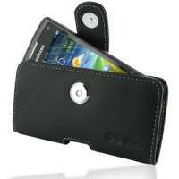 10% OFF + FREE SHIPPING, Buy Best PDair Top Quality Handmade Protective Samsung Wave 3 Leather Holster Case (Black) online. Pouch Sleeve Holster Wallet You also can go to the customizer to create your own stylish leather case if looking for additional col