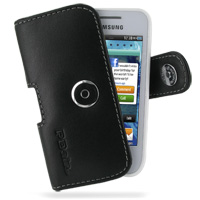 10% OFF + FREE SHIPPING, Buy Best PDair Top Quality Handmade Protective Samsung Wave 575 525 Leather Holster Case (Black). Pouch Sleeve Holster Wallet You also can go to the customizer to create your own stylish leather case if looking for additional colo