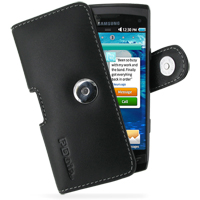 10% OFF + FREE SHIPPING, Buy Best PDair Top Quality Handmade Protective Samsung Wave 2 Leather Holster Case (Black) online. Pouch Sleeve Holster Wallet You also can go to the customizer to create your own stylish leather case if looking for additional col