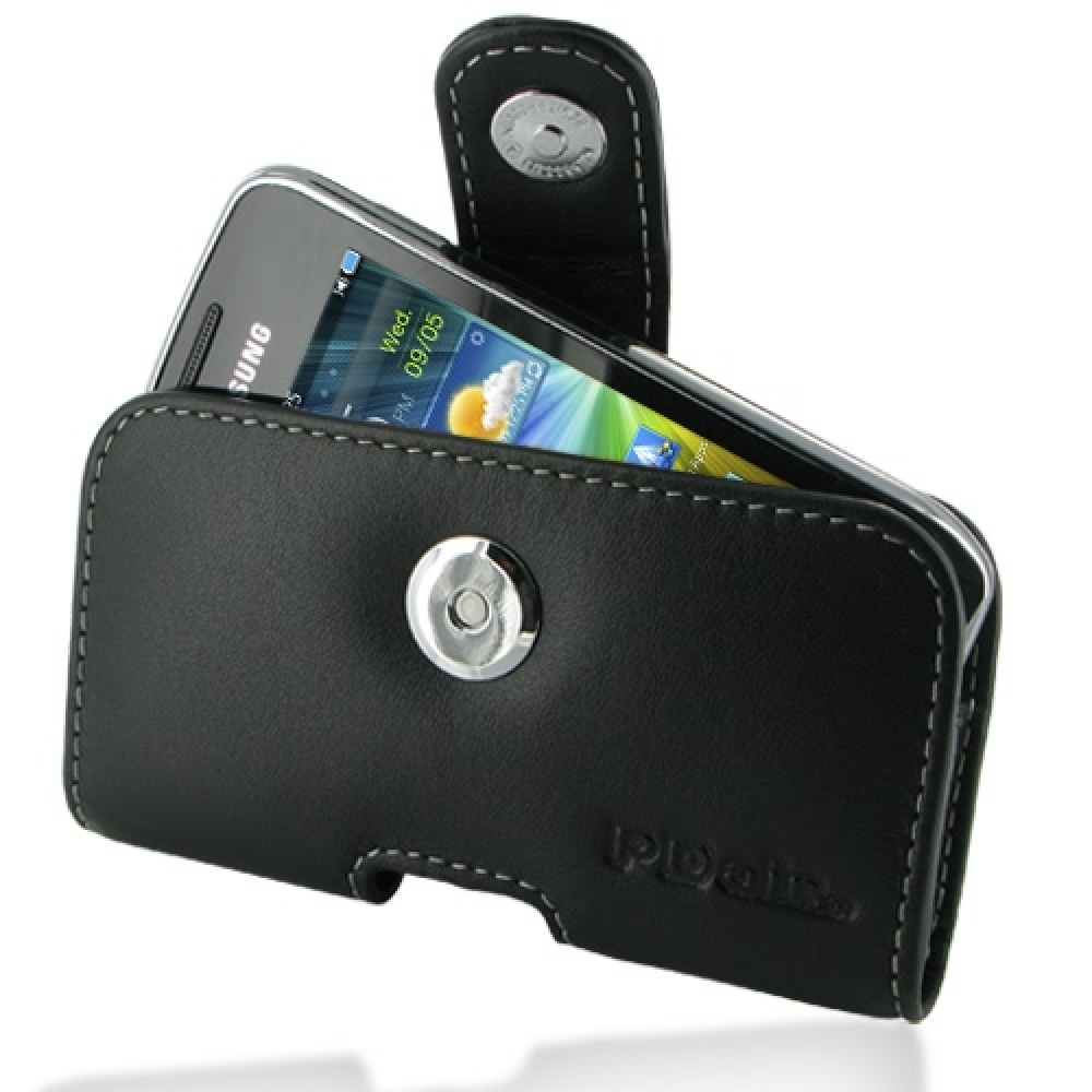 10% OFF + FREE SHIPPING, Buy Best PDair Top Quality Handmade Protective Samsung Wave Y Leather Holster Case (Black) online. Pouch Sleeve Holster Wallet You also can go to the customizer to create your own stylish leather case if looking for additional col