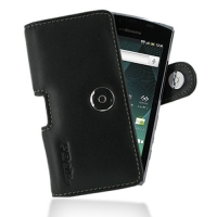 Leather Horizontal Pouch Case with Belt Clip for Sharp AQUOS PHONE SH-12C (Black)