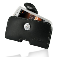Leather Horizontal Pouch Case with Belt Clip for Sony Ericsson Live with Walkman