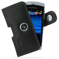 10% OFF + FREE SHIPPING, Buy PDair Top Quality Handmade Protective Sony Ericsson Vivaz / U5i Leather Holster Case (Black) online. Pouch Sleeve Holster Wallet You also can go to the customizer to create your own stylish leather case if looking for addition