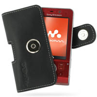 10% OFF + FREE SHIPPING, Buy Best PDair Top Quality Handmade Protective Sony Ericsson W910 Leather Holster Case (Black) online. Pouch Sleeve Holster Wallet You also can go to the customizer to create your own stylish leather case if looking for additional