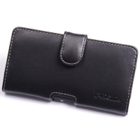 Sony Xperia C Leather Holster Case PDair Premium Hadmade Genuine Leather Protective Case Sleeve Wallet