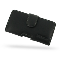 Sony Xperia M Leather Holster Case PDair Premium Hadmade Genuine Leather Protective Case Sleeve Wallet