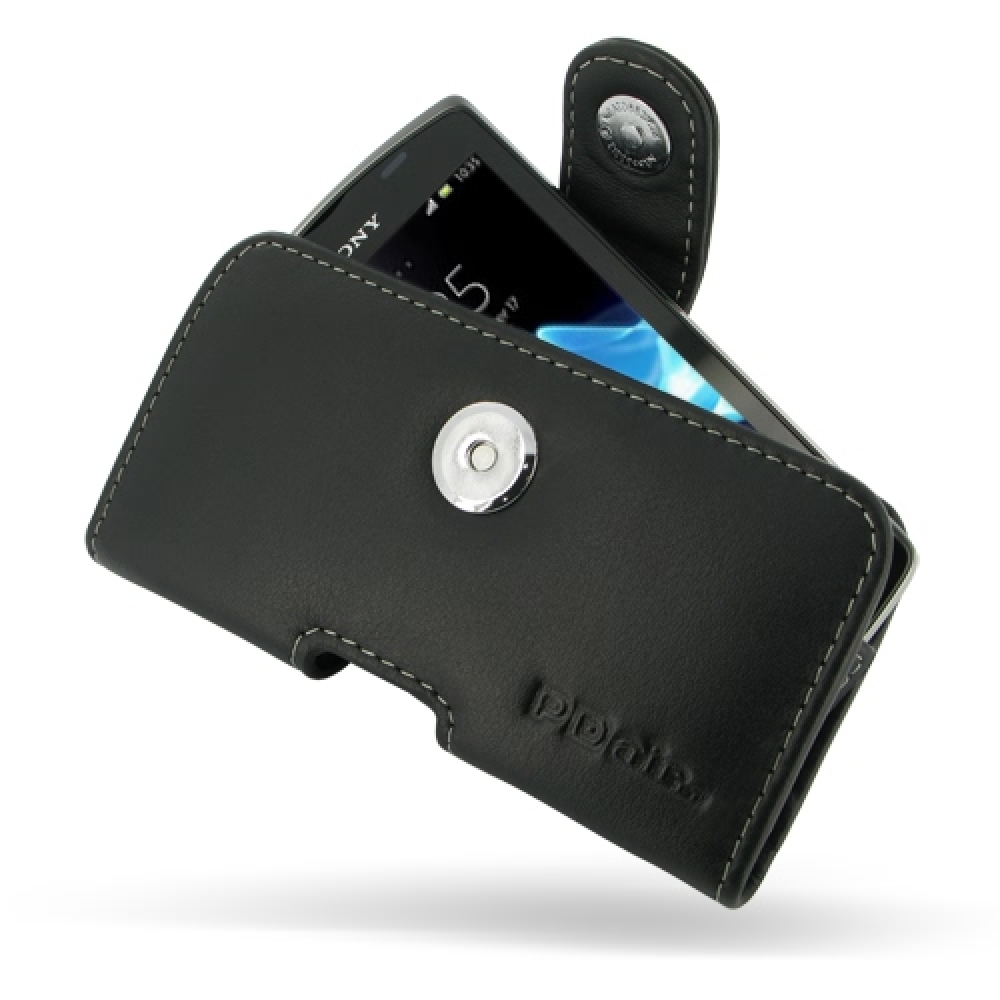 10% OFF + FREE SHIPPING, Buy Best PDair Top Quality Handmade Protective Sony Xperia Neo L Leather Holster Case (Black) online. Pouch Sleeve Holster Wallet You also can go to the customizer to create your own stylish leather case if looking for additional