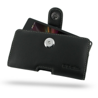 Sony Xperia SP Leather Holster Case PDair Premium Hadmade Genuine Leather Protective Case Sleeve Wallet