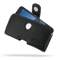 Leather Horizontal Pouch Case with Belt Clip for Xiaomi MI 2 2S