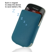 10% OFF + FREE SHIPPING, Buy PDair Quality Handmade Protective BlackBerry Bold 9900 9930 Genuine Leather Pocket Pouch Case (Teal Pebble Genuine Leather) You also can go to the customizer to create your own stylish leather case if looking for additional co