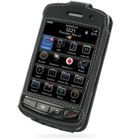 Leather Sleeve Case for BlackBerry Storm 9500 9530 (Black)