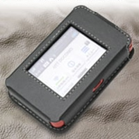 DoCoMo Wi-Fi STATION HW-01F Leather Sleeve Case PDair Premium Hadmade Genuine Leather Protective Case Sleeve Wallet