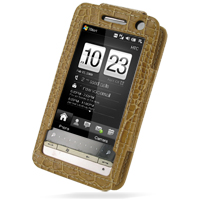 10% OFF + FREE SHIPPING, Buy Best PDair Quality Handmade Protective HTC Touch Diamond 2 Leather Sleeve Case (Brown Croc Pattern). Pouch Sleeve Holster Wallet You also can go to the customizer to create your own stylish leather case if looking for addition