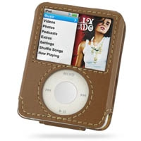 10% OFF + FREE SHIPPING, Buy Best PDair Quality Handmade Protective iPod nano 3rd Genuine Leather Sleeve Case (Brown) online. Pouch Sleeve Holster Wallet You also can go to the customizer to create your own stylish leather case if looking for additional c