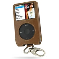 10% OFF + FREE SHIPPING, Buy PDair Quality Handmade Protective iPod Classic 160GB Genuine Leather Sleeve Case with Clip (Brown) online. You also can go to the customizer to create your own stylish leather case if looking for additional colors, patterns an