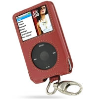 10% OFF + FREE SHIPPING, Buy PDair Quality Handmade Protective iPod Classic 160GB Genuine Leather Sleeve Case with Clip (Red) online. You also can go to the customizer to create your own stylish leather case if looking for additional colors, patterns and