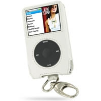 10% OFF + FREE SHIPPING, Buy PDair Quality Handmade Protective iPod Classic 160GB Genuine Leather Sleeve Case with Clip (White) online. You also can go to the customizer to create your own stylish leather case if looking for additional colors, patterns an