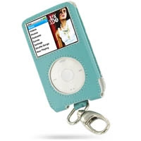 10% OFF + FREE SHIPPING, Buy PDair Quality Handmade Protective iPod Classic 80GB Genuine Leather Sleeve Case with Clip (Aqua) online. You also can go to the customizer to create your own stylish leather case if looking for additional colors, patterns and