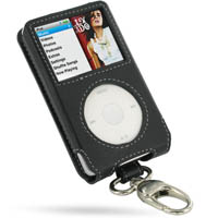 10% OFF + FREE SHIPPING, Buy PDair Quality Handmade Protective iPod Classic 80GB Genuine Leather Sleeve Case with Clip (Black) online. You also can go to the customizer to create your own stylish leather case if looking for additional colors, patterns and
